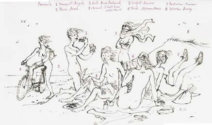 Quentin Blake : Exhibitions : Current