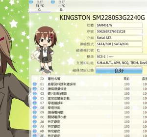 CrystalDiskInfo 8.2.1 漂亮的報表顯示您的硬碟現狀