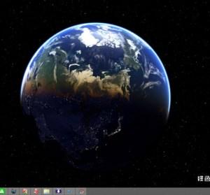 DesktopEarth 3.0.30 地球動態桌布,時時刻刻從宇宙看地球