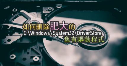 Driver Store Explorer 0.8.3 清理系統中 DriverStore 舊有的驅動程式