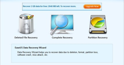 EaseUS Data Recovery Wizard 7.0 磁區損毀都能進行檔案救援