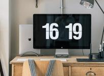 Fliqlo 翻頁式時鐘螢幕保護程式(Windows、Mac)