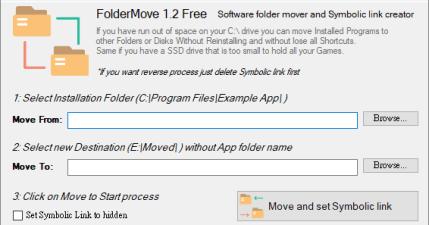 FolderMove 1.2 應用程式乾坤大挪移,移動位置不重新安裝