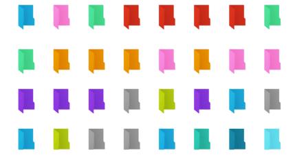 Folder Painter 1.2 資料夾變色工具,資料管理的小幫手