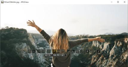 JPEGView 1.0.37 簡單的圖片瀏覽軟體,還有方便的影像調整功能
