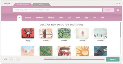 MP3jam 1.1.5.6 線上聽音樂!搜尋音樂!收藏音樂!