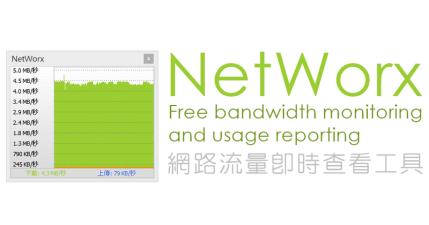NetWorx 6.2.5 即時監看網路流量