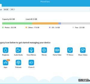 PhoneTrans 4.3.0 iOS簡易型檔案總管,免開啟iTunes的替代方案