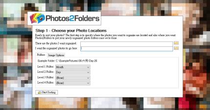 Photos2Folders 0.4 照片自動整理工具,依照時間日期自動歸檔