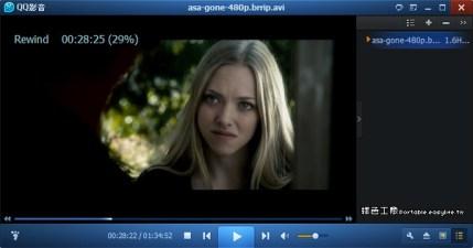 QQPlayer 3.9.923 多功能的影片播放器,還能將2D影片轉3D唷!