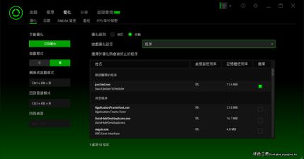 Razer Cortex Game Booster 8.4.17.561 電腦加速來玩遊戲吧!