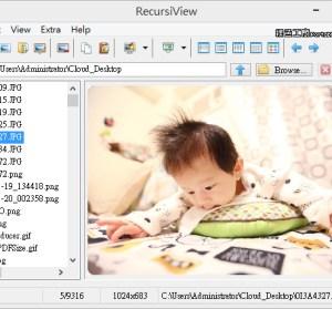 RecursiView 1.0.3 一次瀏覽遞迴資料夾內的所有圖片