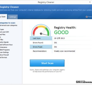 Pointstone Registry Cleaner 4.01 - 登錄檔清理工具