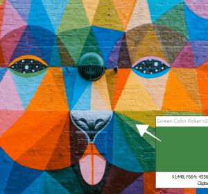 Screen Color Picker 2.0 方便快速的螢幕選色工具