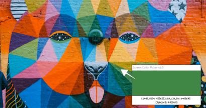 方便好用推薦的螢幕選色工具 Screen Color Picker