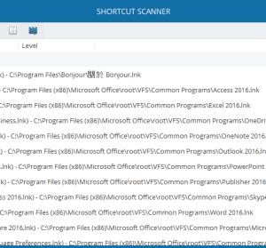 Shortcut Scanner 1.0 移除電腦中無效的捷徑連結,與安全息息相關