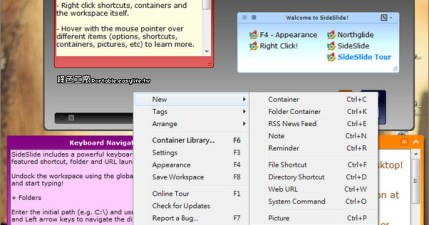 SideSlide 3.5.10 - 功能豐富的桌面便利貼工具