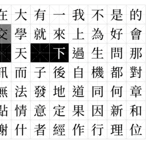 思源宋體 Google 與 Adobe 合作的免費字體 Noto Serif CJK 下載,比黑體更優美的線條
