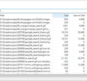 SwiftSearch 6.4 檔案快速搜尋,無建立索引速度依然很快