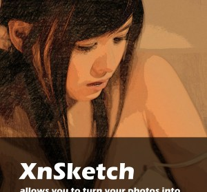 XnSketch 1.20 相片輕鬆變素描,知名看圖軟體XnView手機工具(PC/iOS/Android)