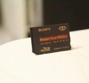 PSP記憶卡容量大升級。CR-5400