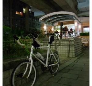 萬芳社區夜騎。1.5趟