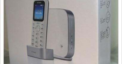 跟上科技的腳步.D Link DHA 150無線網路電話
