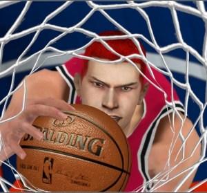 NBA 2K10 灌籃高手湘北隊