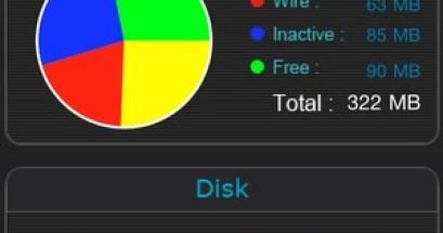 System Info Pro.了解iPhone的系統資源與使用率