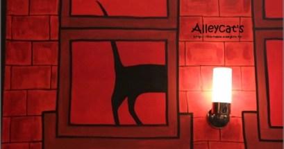 Alleycats.義式窯烤披薩&有貓咪的牆