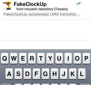 FakeClockUp。iPhone速度優化