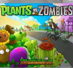 Plants vs Zombies 植物大戰殭屍。iPhone上著名遊戲