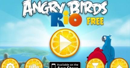 【里約大冒險】Angry Birds Rio。生氣鳥二代來囉!比打豬頭更好玩!