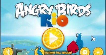 Angry Birds Rio(生氣鳥里約大冒險)PC版來囉!