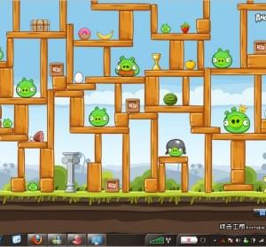 Angry Birds生氣鳥佈景主題(Windows 7專用)