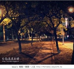 台南漫漫夜騎~視野可以很不一樣!
