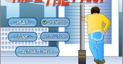 Hide The Fart。好機車的放屁遊戲(iPhone/iPad街機遊戲)