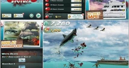 Jaws Revenge大白鯊的復仇。超血腥街機遊戲(iPad/iPhone)