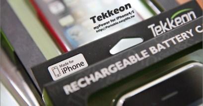 【分享】Tekkeon myPower.iPhone4s 背蓋式行動電源,攜帶一點都不累贅!