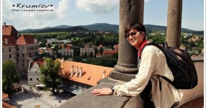【捷克】彩繪塔.Krumlov 庫倫諾夫最佳拍照地點&城堡區漫步走