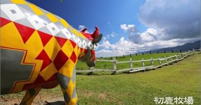 【台東】初鹿牧場.讓我們在藍天綠地中放空吧!