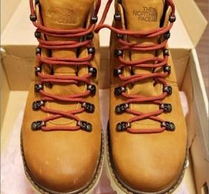 【開箱】THE NORTH FACE 男性六吋中筒工作靴。兼具防水與保暖的雪靴