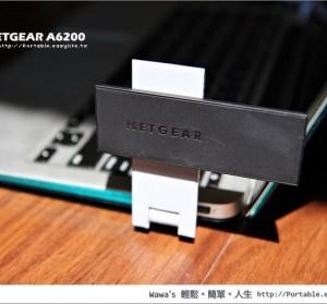 【開箱】NETGEAR A6200 802.11ac 無線網路卡,867M速度衝啊!