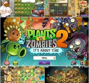 植物大戰殭屍2 - Plants vs Zombies 2 心得攻略 ,法老、海盜、牛仔都變殭屍啦!