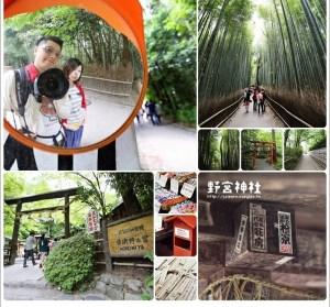 【京都】野宮神社,漫步竹林中的小旅程