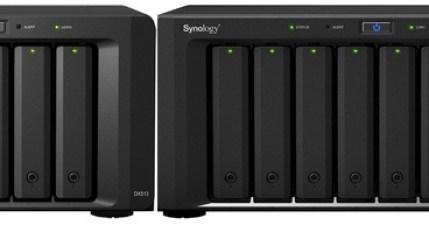 Synology DS1813+ & DX513 儲存空間規劃,資料儲存、備份、私有雲端一次搞定!