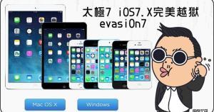 iOS 7 的越獄出爐囉!透過 evasi0n7 達成 IOS 7.0 ~ 7.0.4 這幾個版本間的完美越獄,雖然說我已經很少使用 JB ...