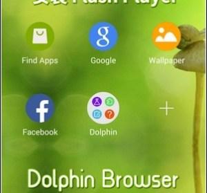 【教學】Android 4.4.x 安裝 Flash Player,搭配 Dolphin Browser 瀏覽
