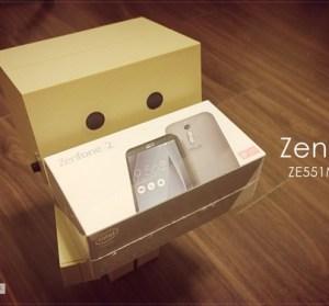 【開箱】ASUS ZenFone 2 ZE551ML 4G RAM 版本來也!話不多說來看跑分!