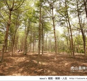 【台南】虎山國小森林步道,離奇美博物館不遠的秘密景點(西瓜山森林步道)